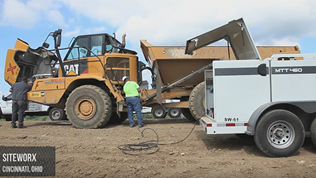 Video: SiteWorx Keeps Equipment Running with Thunder Creek MTT Trailers