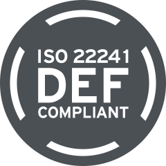 ISO Compliant for Life